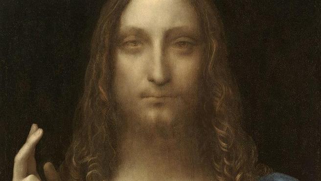 Imagen del cuadro 'Salvator Mundi', de Leonardo da Vinci.