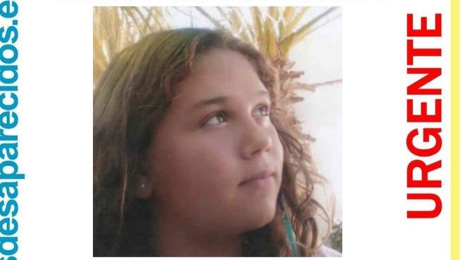 Nahikari Vargas Gutiérrez, adolescente de 14 años desaparecida desde el viernes en Málaga