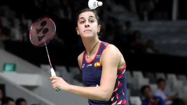 Carolina Marín, durante el Masters de Inonesia