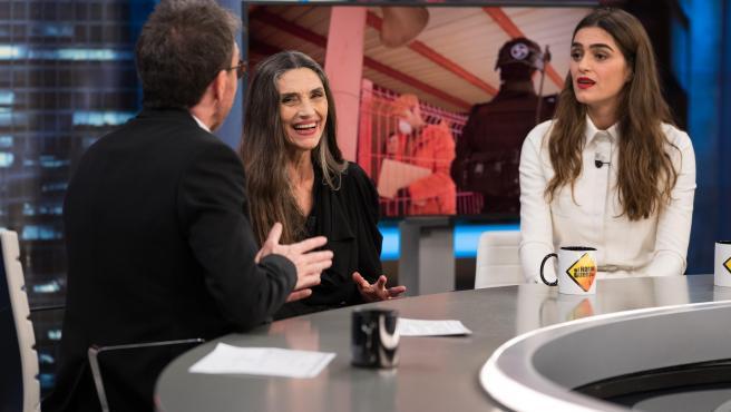 Ángela y Olivia Molina, en 'El hormiguero'.