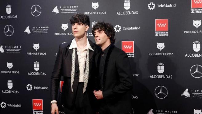 Javier Calvo y Javier Ambrossi, Los Javis, en la alfombra roja de los premios Feroz 2020.