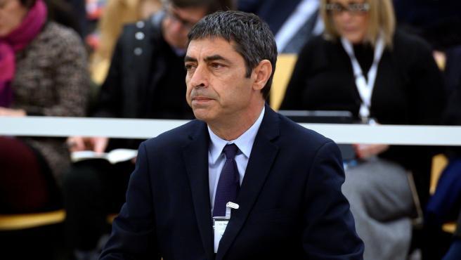 Josep Lluís Trapero, durante el juicio.