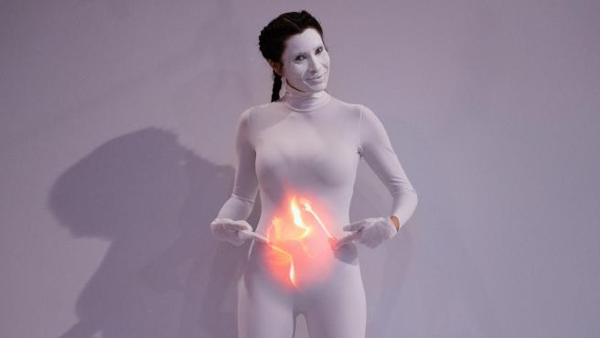 Pilar Rubio anuncia su embarazo, en 'El hormiguero'.