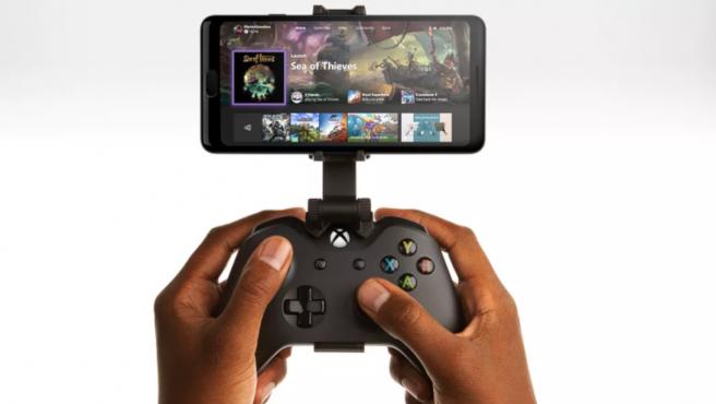 Este servicio en 'streaming' permite jugar títulos de Xbox One en un móvil con Android.
