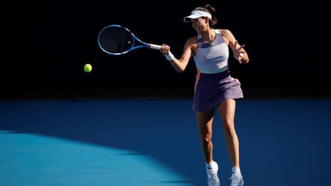 Muguruza, en el Open de Australia.