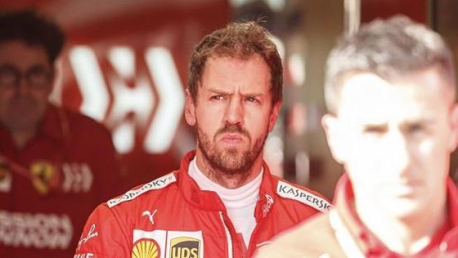 Sebastian Vettel, piloto de Ferrari.