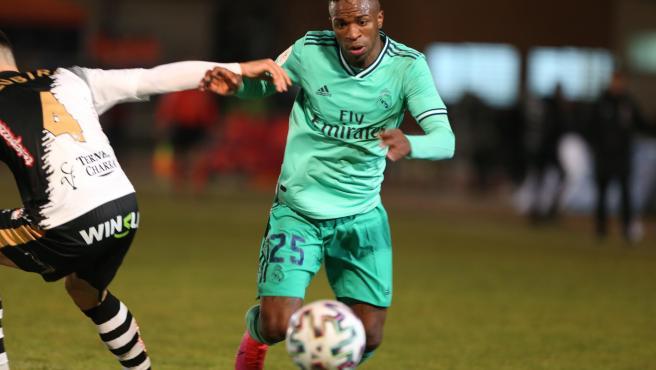 Vinícius volvió a estar negado de cara al gol.