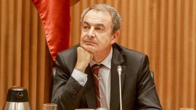 El expresidente del Gobierno, José Luis Rodríguez Zapatero, en imagen de archivo
