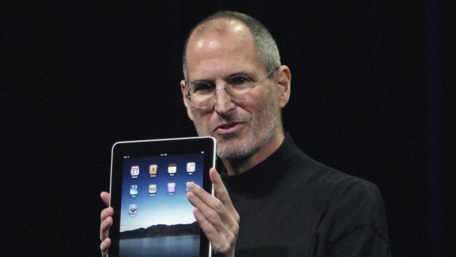 Steve Jobs, en la presentación del iPad en enero de 2010