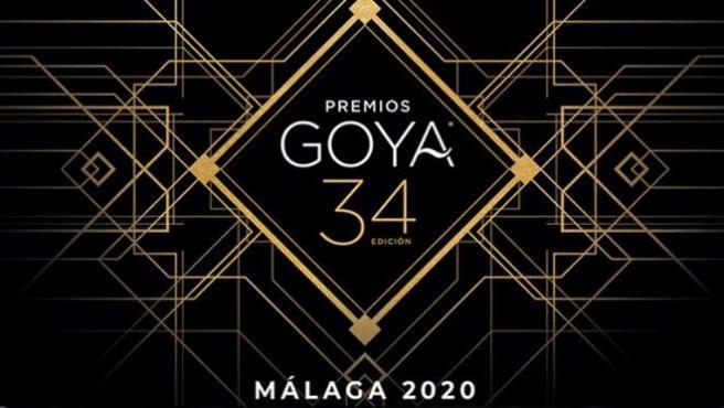 Cartel de los premios Goya 2020.
