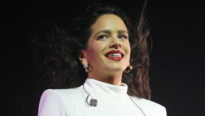 Rosalía, en el último concierto de su gira en Madrid.