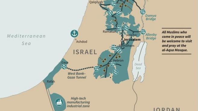 El Plan de Trump para Israel y Palestina