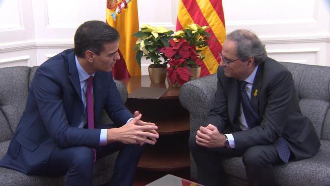 Sánchez se reunirá con Torra el 6 de febrero en Barcelona