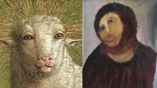 El cordero místico y el Ecce Homo de Borja.