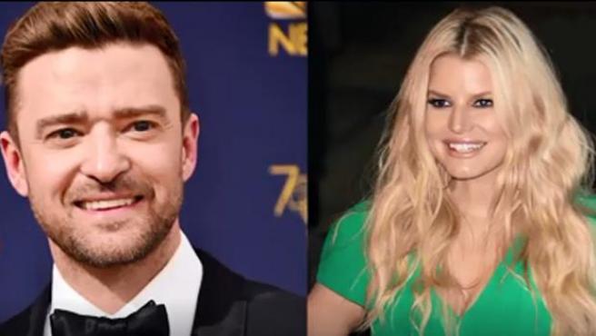 """Jessica Simpson reveló que después de ese beso Timberlake sacó su teléfono y comenzó a escribir. """"Aparentemente él y Ryan Gosling habían apostado a quién me besaría primero cuando tenían 12 años"""", manifestó."""