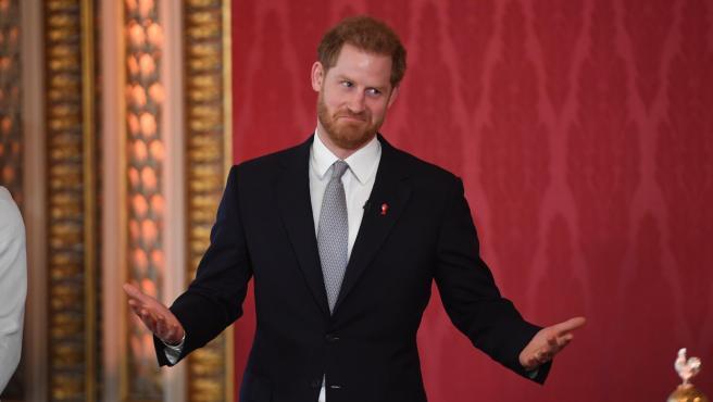 El príncipe Harry, en enero de 2020.