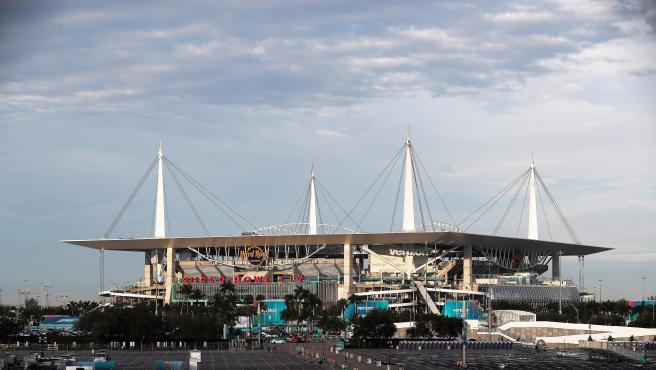 Hard Rock Stadium de Miami, donde se disputa la Super Bowl LIV.