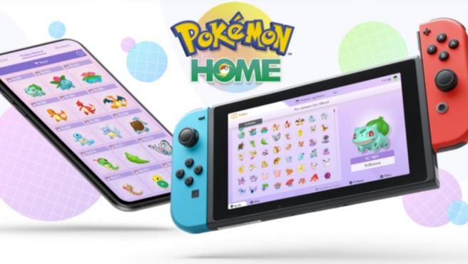Pokémon Home y está disponible para Nintendo Switch y dispositivos móviles.