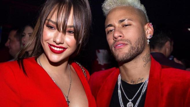 Katerina y Neymar en la fiesta de cumpleaños del futbolista en 2019.