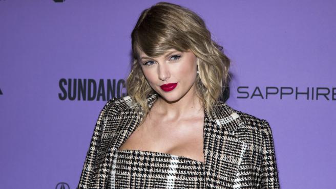 Taylor Swift en la premiere de 'Miss Americana'.