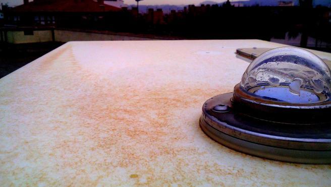 Lluvia de barro en Murcia (foto de archivo)