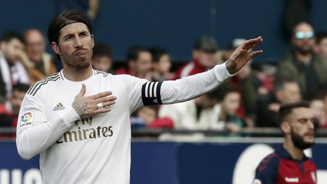 El capitán del Madrid volvió a marcar diez partidos después.