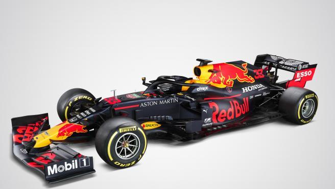 El Red Bull RB16, el coche de Verstappen y Albon para 2020.