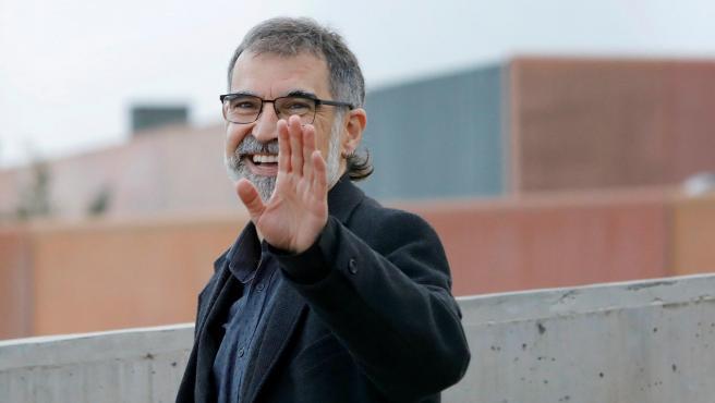 Jordi Cuixart sale de la prisión de Lledoners con un permiso de 72 horas.