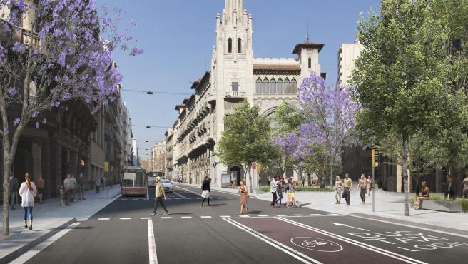 La propuesta de transformación de Via Laietana.