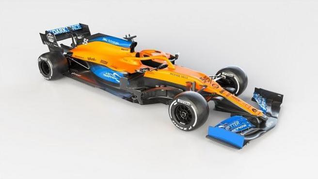 El nuevo McLaren MCL35, el coche de Carlos Sainz y Lando Norris para 2020.
