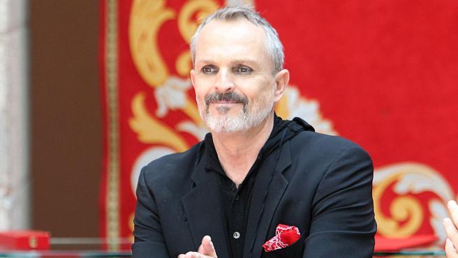 El cantante Miguel Bosé, en una imagen de archivo de 2017.