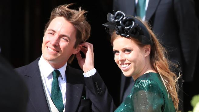 Beatriz de York y Edoardo Mapelli, en agosto de 2019.