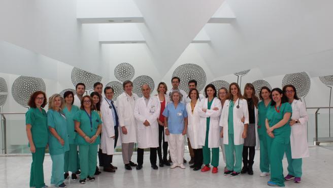 Equipo médico que ha realizado el primer trasplante de corazón en España procedente de un fallecido por parada cardiorrespiratoria