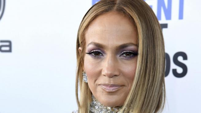 Jennifer Lopez en los Premios Independent Spirit.