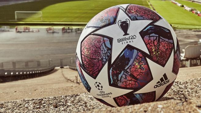 El nuevo balón para la Champions 2020.