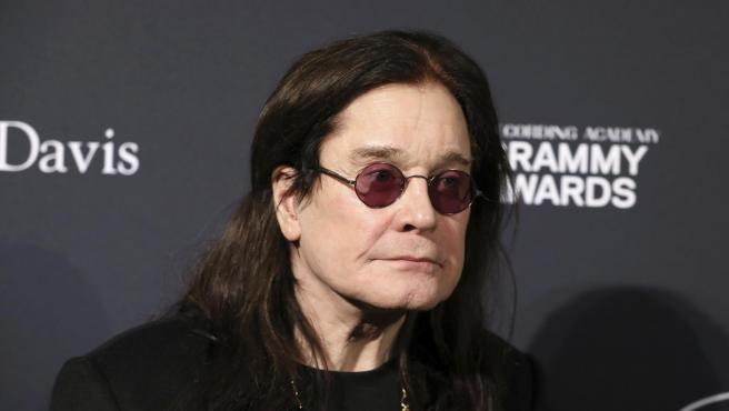 El cantante Ozzy Osbourne, en un evento.