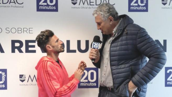 Los dos deportistas analizaron las opciones de los españoles en Tokio.