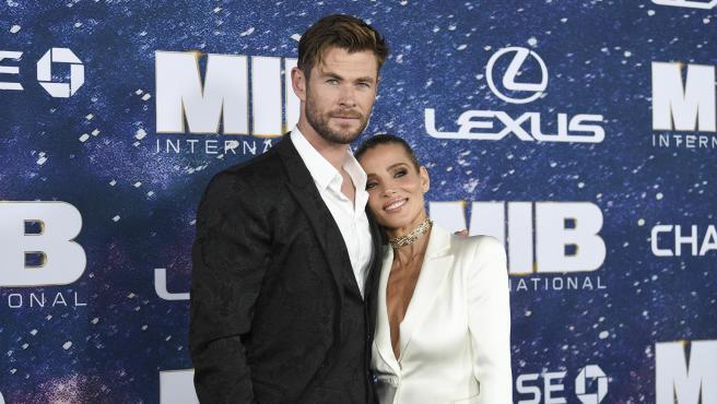 Chris Hemsworth y Elsa Pataky en junio de 2019.