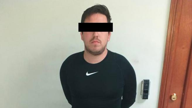 Jonathan G., el futbolista detenido por matar a un árbitro.