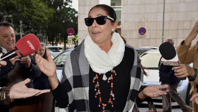 Isabel Pantoja, en una imagen de 2019.