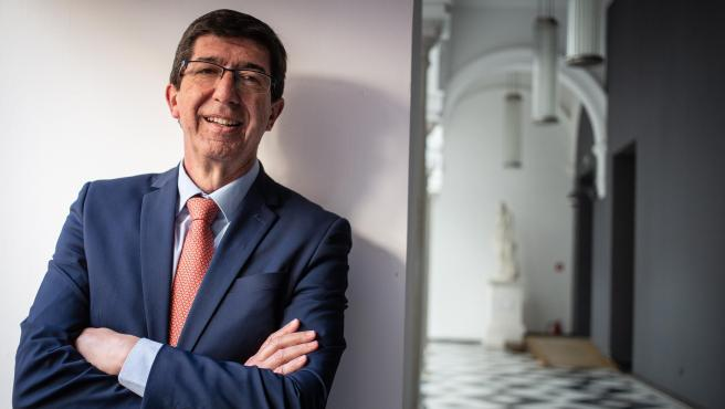 Juan Marín, vicepresidente de la Junta y líder de Cs en Andalucía.