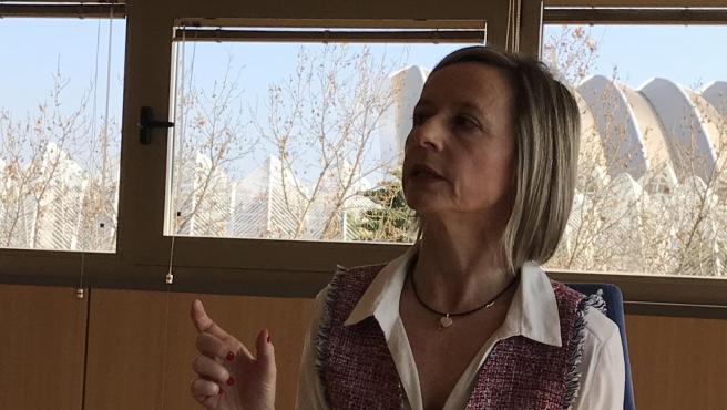 La presidenta de la Audiencia de Valencia, Esther Rojo.