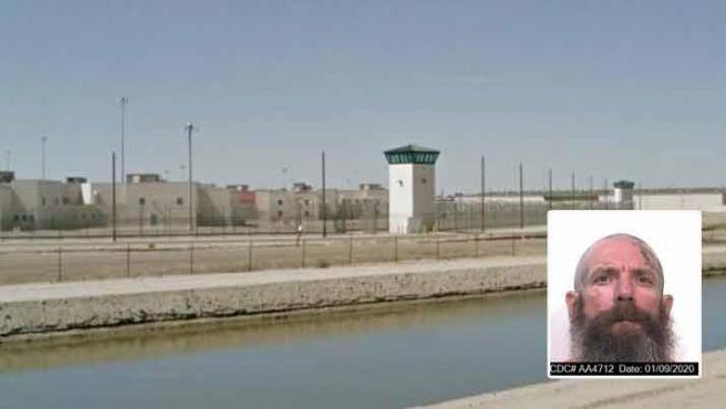 Jonathan Watson, preso del Centro Penitenciario del Estado en Corcoran.