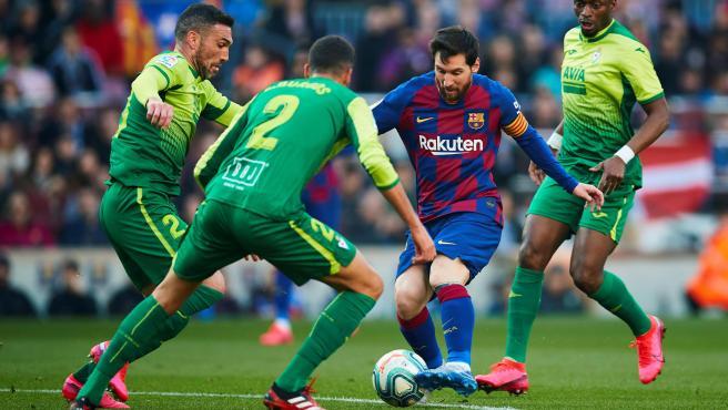 Messi, contra el Eibar