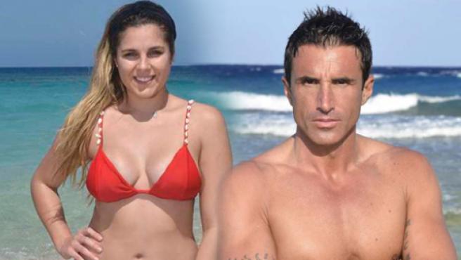 Hugo (ex de Adara) e Ivana Icardi (ex de Gianmarco)