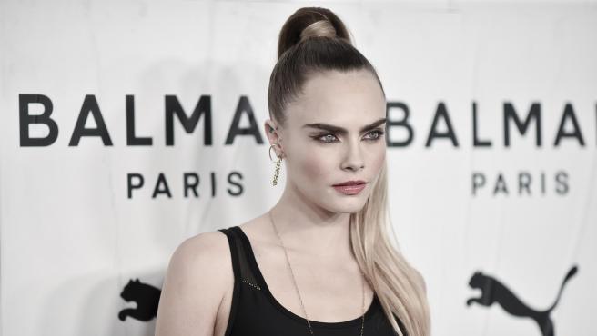 La modelo Cara Delevingne, en noviembre de 2019.
