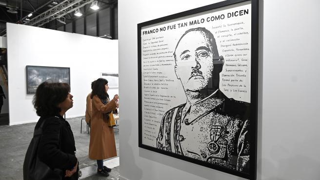 """Imagen de la obra """"Franco no era tan malo como dicen"""" de ARCO."""