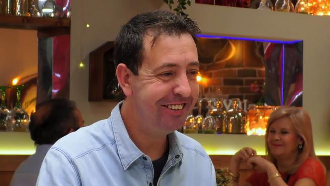 Sebastián, en 'First dates'.