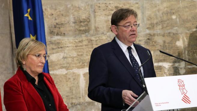 Puig informa sobre el resultat de la reunió per tractar la situació del coronavirus.