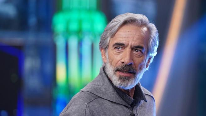 Imanol Arias, en 'El hormiguero'.